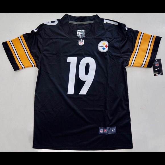 buy popular 9983a 10873 Juju Smith-Schuster Nike Vapor Steelers Jersey NWT